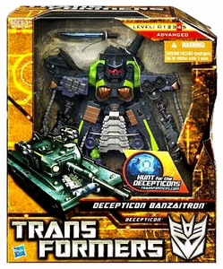 Transformers: Hunt for the Decepticons Voyager Action Figure Decepticon Banzaitron
