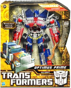 Transformers: Hunt for the Decepticons Leader Action Figure Optimus Prime [Battle Hook]