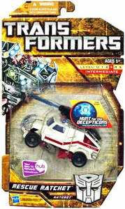 Transformers: Hunt for the Decepticons Deluxe Action Figure Rescue Ratchet