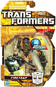 Transformers: Hunt for the Decepticons Scout Action Figure Firetrap