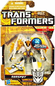 Transformers: Hunt for the Decepticons Scout Action Figure Sunspot