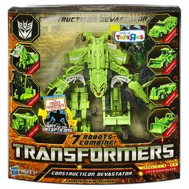 Transformers: Hunt for the Decepticons Exclusive Legends Action Figure Constructicon Devastator [7 Robots Combine]
