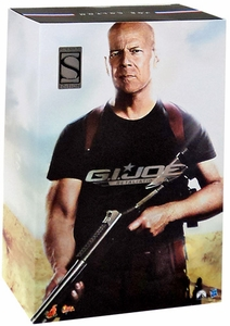 GI Joe Retaliation Hot Toys Movie Masterpiece Exclusive 12 Inch Figure General Joe Colton [Bruce Willis]
