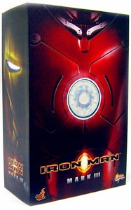 Iron Man Hot Toys Movie 1/6 Scale Collectible Figure Iron Man Mark III