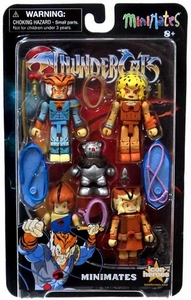 Diamond Select Toys Thundercats Minimates Series 2 5-Pack [Wilykit, Tygra, Wilykat, Cheetara & Ro-Bear]
