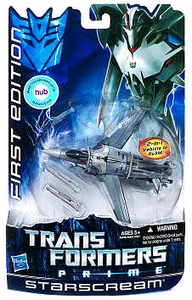 Transformers Prime Deluxe Action Figure First Edition Starscream