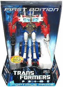 Transformers Prime Voyager Action Figure First Edition Optimus Prime