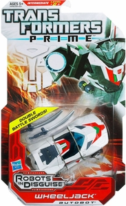 Transformers Prime Robots in Disguise Deluxe Action Figure Wheeljack [Double Battle Swords!]