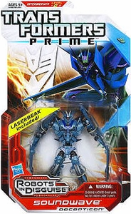 Transformers Prime Robots in Disguise Deluxe Action Figure Soundwave [Includes Laserbeak]