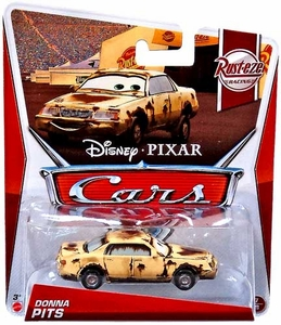 Disney / Pixar CARS MAINLINE 1:55 Die Cast Car Donna Pits [Rust-eze Racing 7/8]