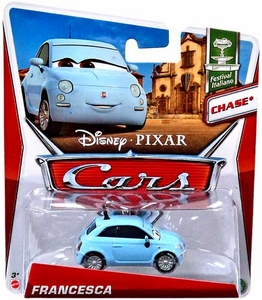 Disney / Pixar CARS MAINLINE 1:55 Die Cast Car Francesca [Festival Italiano 6/10] Chase Piece!