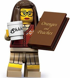LEGO Minifigure Collection Series 10 LOOSE Mini Figure Librarian