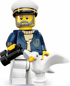 LEGO Minifigure Collection Series 10 LOOSE Mini Figure Sea Captain