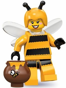LEGO Minifigure Collection Series 10 LOOSE Mini Figure Bumblebee Girl