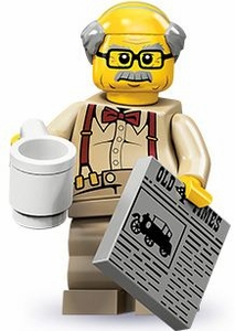 LEGO Minifigure Collection Series 10 LOOSE Mini Figure Grandpa