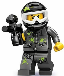 LEGO Minifigure Collection Series 10 LOOSE Mini Figure Paintball Player