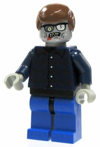 LEGO Zombie LOOSE Custom Mini Figure Plaid Zombie [Version 2]