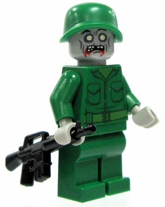 LEGO Zombie LOOSE Custom Mini Figure Zombie National Guard