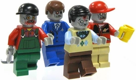 LEGO Zombie LOOSE Custom MiniFigure One RANDOM Zombie with Past Life Accessory