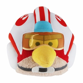 Angry Birds Star Wars 8 Inch DELUXE Plush Luke Skywalker with Helmet [With Sound!]