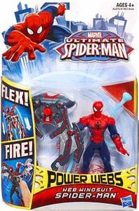 Ultimate Spider-man Power Webs Action Figure Web Wingsuit Spider-Man Pre-Order ships July