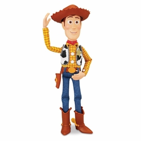 Disney / Pixar Toy Story 16 Inch Ragdoll Action Figure Sheriff Woody [Actual Movie Size!]