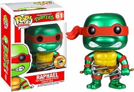 Funko POP! Teenage Mutant Ninja Turtles 2013 SDCC San Diego Comic-Con Exclusive Vinyl Figure Raphael [Metallic]