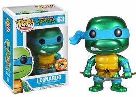Funko POP! Teenage Mutant Ninja Turtles 2013 SDCC San Diego Comic-Con Exclusive Vinyl Figure Leonardo [Metallic]