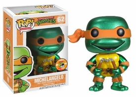Funko POP! Teenage Mutant Ninja Turtles 2013 SDCC San Diego Comic-Con Exclusive Vinyl Figure Michelangelo [Metallic]
