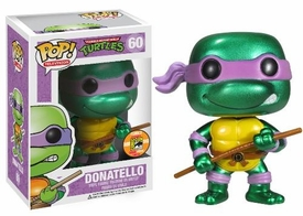 Funko POP! Teenage Mutant Ninja Turtles 2013 SDCC San Diego Comic-Con Exclusive Vinyl Figure Donatello [Metallic]