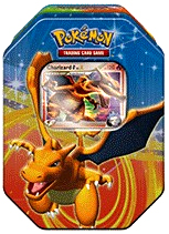 Pokemon Platinum Fall 2009 Collector Tin Set Charizard with Charizard G LV.X Card