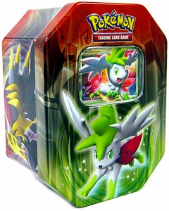 Pokemon Platinum Spring 2009 Collector Tin Set Shaymin