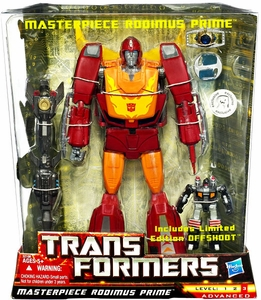 Transformers Universe SDCC 2011 San Diego Comic-Con Exclusive Deluxe Figure Masterpiece Rodimus Prime [Includes Limited Edition Offshoot]