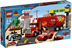 LEGO DUPLO Disney Cars Set #5816 Mack's Road Trip