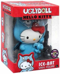 Funko 2013 SDCC Comic-Con Exclusive Hello Kitty Ugly Doll 5 Inch Vinyl Figure Ice-Bat Only 240 Made!