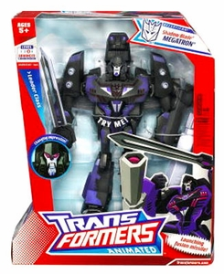 Transformers Animated Leader Action Figure Shadow Blade Megatron