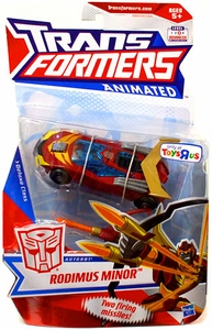 Transformers Exclusive Animated Deluxe Action Figure Rodimus Minor