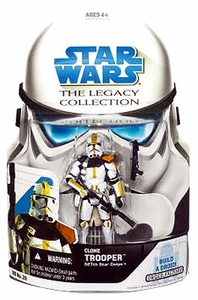 Star Wars 2008 Legacy Collection Build-A-Droid Action Figure BD No. 29 Clone Trooper [327th Star Corps]