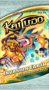 Kaijudo Trading Card Game Invasion Earth Booster Pack [9 Cards]