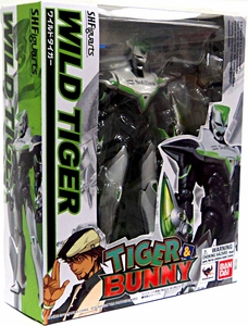 Tiger & Bunny S.H. Figuarts Action Figure Wild Tiger