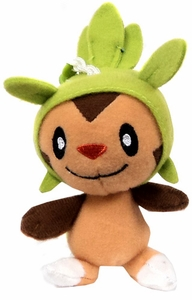 Pokemon XY TOMY 3.5 Inch Plush Keychain Chespin
