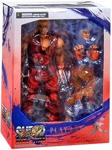 Super Street Fighter IV Square Enix Play Arts Kai Action Figure Ken Pre-Order ships April