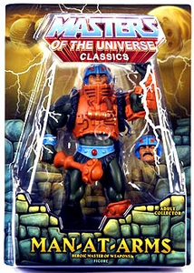 He-Man Masters of the Universe Classics Exclusive Action Figure Man-At-Arms [First Printing]