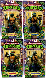 Teenage Mutant Ninja Turtles Set of 4 Classics Retro 6 Inch Action Figures [Leonardo, Donatello, Raphael & Michelangelo]
