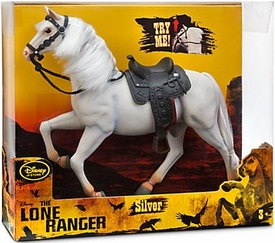 Disney Exclusive Lone Ranger Movie 10.5 Inch Deluxe Action Figure Silver