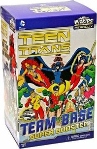 Teen Titans Heroclix Team Base SUPER Booster Pack