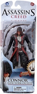 McFarlane Toys Assassin's Creed Series 1 Exclusive Action Figure Connor New York Outfit [Unlocks Connor's Sails]