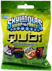 Topps Skylanders SWAP FORCE Qubi Pack [1 Qubi Stamper Qube] BLOWOUT SALE!