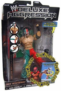 WWE Wrestling DELUXE Aggression Series 1 Action Figure Rey Mysterio
