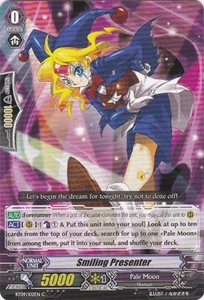 Cardfight Vanguard ENGLISH Clash of the Knights & Dragons Single Card Common BT09/102 Smiling Presenter